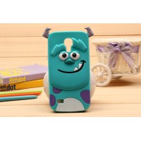 Силиконовый дизайнерский фигурный чехол для Samsung Galaxy S4 Mini