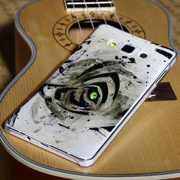 Пластиковый матовый дизайнерский чехол с УФ-принтом для Samsung Galaxy A7