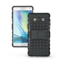 Силиконовый чехол экстрим защита для Samsung Galaxy A7 Черный