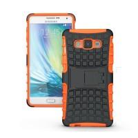 Силиконовый чехол экстрим защита для Samsung Galaxy A7 Оранжевый