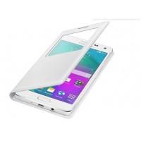 Кожаный чехол смартфлип с окном вызова для Samsung Galaxy A7