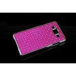 Пластиковый чехол со стразами для Samsung Galaxy A7