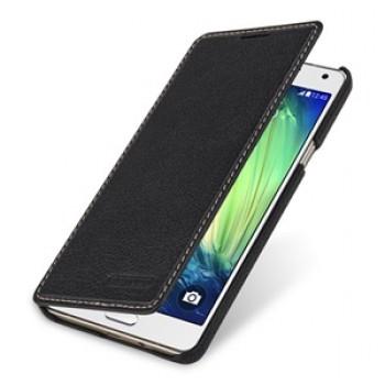 Кожаный чехол горизонтальная книжка (нат. кожа) для Samsung Galaxy A7