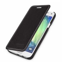 Кожаный чехол горизонтальная книжка (нат. кожа) для Samsung Galaxy A3