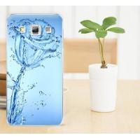 Пластиковый матовый дизайнерский чехол с УФ-принтом для Samsung Galaxy A3