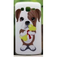 Пластиковый матовый дизайнерский чехол с принтом Мимими для Samsung Galaxy Grand Prime
