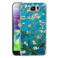 Пластиковый матовый дизайнерский чехол с рельефным УФ-принтом для Samsung Galaxy S6