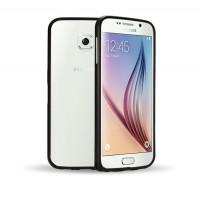 Металлический бампер для Samsung Galaxy S6 Черный