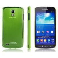 Ультратонкий пластиковый чехол для Samsung Galaxy S4 Active Зеленый