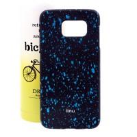Пластиковый матовый дизайнерский чехол с голографическим принтом Звезды для Samsung Galaxy S6