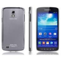 Ультратонкий пластиковый чехол для Samsung Galaxy S4 Active Черный