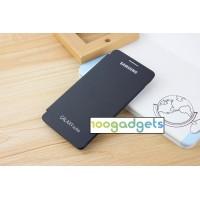 Встраиваемый полиуретановый чехол флип для Samsung Galaxy Alpha