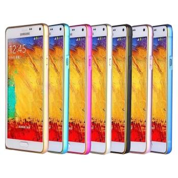 Металлический двухцветный бампер для Samsung Galaxy Alpha