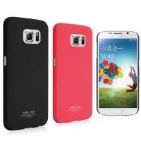 Пластиковый матовый чехол с повышенной шероховатостью для Samsung Galaxy S6