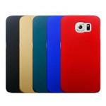 Пластиковый матовый металлик чехол для Samsung Galaxy S6