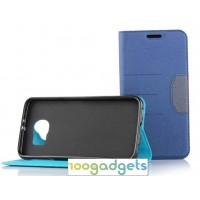 Дизайнерский чехол флип подставка на силиконовой основе для Samsung Galaxy S6
