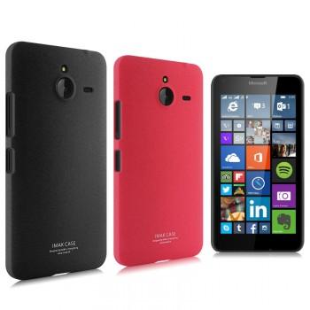 Пластиковый матовый чехол с повышенной шероховатостью для Microsoft Lumia 640 XL