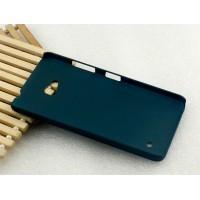 Пластиковый матовый Металлик чехол для Microsoft Lumia 640 Зеленый