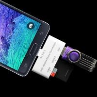 Универсальный переходник OTG для подключения внешней памяти USB 2.0/SD/MicroSD для Nokia Lumia 820