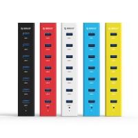Хаб USB 3.0 OTG для подключения 7-и периферийных USB устройств для BQ Amsterdam (BQS-5505)