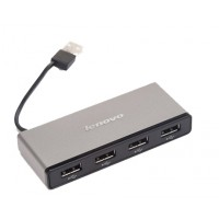 Оригинальный хаб Lenovo USB 2.0 OTG для подключения 4-х периферийных USB устройств для Samsung Galaxy Note 4 (duos, lte, N910H, SM-N910H, N910f, SM-N910f, SM-N910C, n910c)