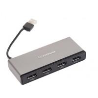 Оригинальный хаб Lenovo USB 2.0 OTG для подключения 4-х периферийных USB устройств для Huawei Honor 7 (Premium, PLK-CL00, PLK-UL00, PLK-AL10, PLK-TL01H, PLK-L01)