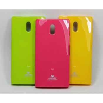 Силиконовый матовый непрозрачный чехол для Sony Xperia P