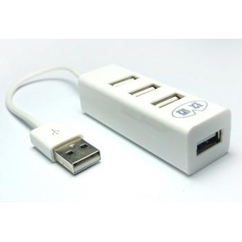 Хаб USB 2.0 OTG для подключения 3-х периферийных USB устройств