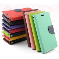Дизайнерский чехол портмоне подставка с магнитной защелкой на силиконовой основе для Nokia Lumia 630/635