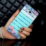 Дизайнерский пластиковый чехол с аппликацией стразами и бижутерией ручной работы для Samsung Galaxy A5