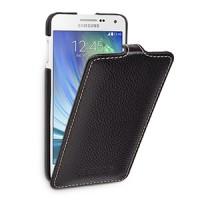 Кожаный чехол вертикальная книжка (нат. кожа) для Samsung Galaxy A5