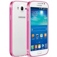 Металлический бампер для Samsung Galaxy Grand / Neo Пурпурный