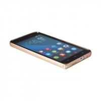 Металлический бампер для Huawei Honor 4X Бежевый