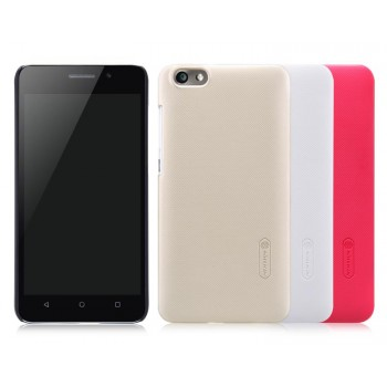 Пластиковый матовый нескользящий премиум чехол для Huawei Honor 4X