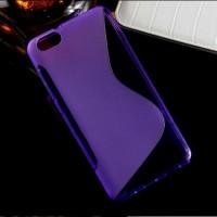 Силиконовый S чехол для Huawei Honor 4X Фиолетовый
