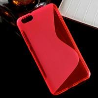 Силиконовый S чехол для Huawei Honor 4X Красный
