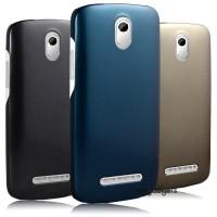 Пластиковый чехол серия Metallic для HTC Desire 500