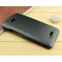 Пластиковый чехол серия Metallic для HTC Desire 616 Черный