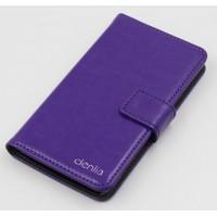 Чехол портмоне подставка с защелкой для ZTE Geek 2 Фиолетовый