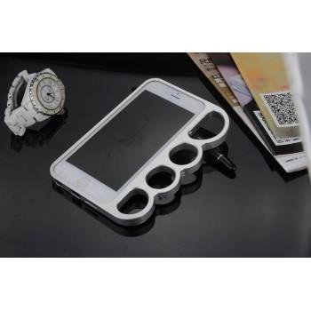Эксклюзивный цельнометаллический винтовой бампер дизайн Кастет для Iphone 6