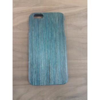 Эксклюзивный деревянный чехол сборного типа из голубого бамбука для Iphone 6