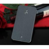 Чехол флип-подставка на пластиковой основе и присоске текстура Песок для Nokia Lumia 1520 Черный