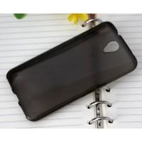 Силиконовый матовый чехол для Alcatel One Touch Idol 2 Серый