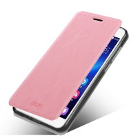 Чехол флип подставка водоотталкивающий для Huawei Honor 4X Розовый