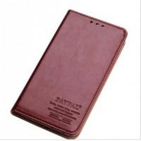 Премиум чехол винтажная кожа для Nokia Lumia 1320 Коричневый
