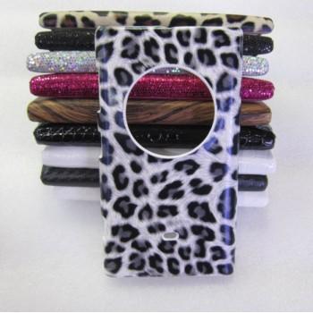 Эксклюзивный пластиковый дизайнерский чехол с аппликацией ручной работы серия Природа для Nokia Lumia 1020