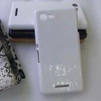 Эксклюзивный пластиковый дизайнерский чехол с аппликацией ручной работы серия Природа для Sony Xperia E3
