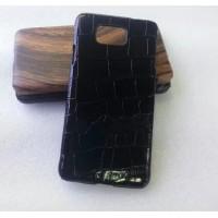 Эксклюзивный пластиковый дизайнерский чехол с аппликацией ручной работы серия Природа для Samsung Galaxy Alpha