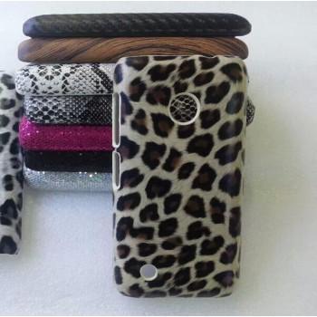 Эксклюзивный пластиковый дизайнерский чехол с аппликацией ручной работы серия Природа для Nokia Lumia 530