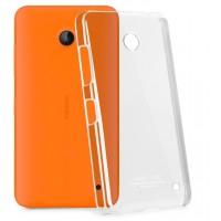 Транспарентный пластиковый чехол для Nokia Lumia 630